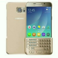 Samsung Galaxy Note 5 Keyboard Cover Gold | Fisik Qwerty Emas
