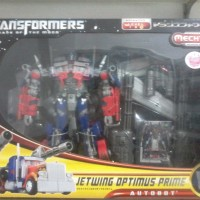 Jual Action Figure Robot Transformers Optimus Prime Jetwing