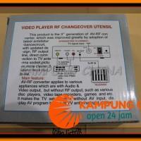 AV To RF Converter (Ready Stock