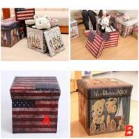 Toy Box Storage Box (mainan kursi squishi splat toy kotak vintage)