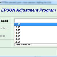 Resetter Epson L110-300-210-350-355-550-555 Unlimited 1 PC