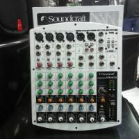 Mixer audio soundcraft EFX8/4USB