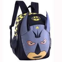 Tas Ransel Anak Sekolah SD TK Laki-Laki Backpack Cowok Hitam Batman