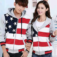 [GROSIR & ECER] Jaket Couple | Five Star Abu | All size fit M/L