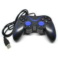 VZTEC USB Double Shock Controller Game Pad Joystick Model - VZ-GA6008