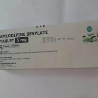 Amlodipine 5 mg amlodipin 5 mg harga box isi 30 tablet ..