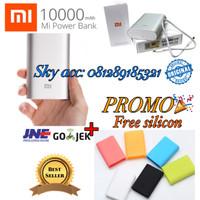 PROMO Powerbank xiaomi 10000mah Small Original Silver