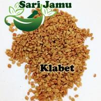 Harga jamu herbal tradisional biji klabet super 100 gr untuk melancarkan   Pembandingharga.com