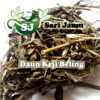 Harga jamu herbal tradisional daun keji beling 100 gr untuk batu   Pembandingharga.com