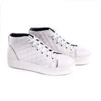 harga Sepatu Wanita Casual Sneakers Putih / Sepatu Cewek Gaya Distro Garucci Tokopedia.com
