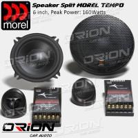 Speaker Spit Morel Tempo 2way 6inch [Orion Car Audio]