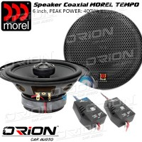 Speaker Coaxial Morel TEMPO 6inch [Orion Car Audio]