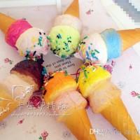 harga Squishy Es Krim ice cream Cone Soft tinggi 10 cm gantungan kunci Tokopedia.com