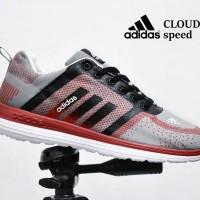 319ba1441891d Sepatu Sport Adidas Cloudfoam Grade Ori   running olahr Murah