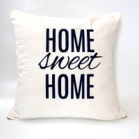 Sarung bantal sofa / Cushion cover - Home sweet home