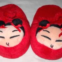 Sandal Baby Girl Pucca-Sandal Kain Nyaman Soft Cute Imut Lucu 610070