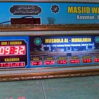 Jam digital sholat untuk masjid