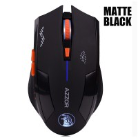 Azzor Mouse Gaming Wireless Rechargeable Usb 2400 Dpi 2.4g