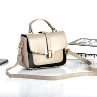 TAS KOREA MINI HANDBAG MURAH CANTIK UNIK FASHION GREY IMPOR WOMEN KECE