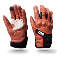 Promo Sarung Tangan Kulit TDR Gloves RG-GT Coklat Brown Original