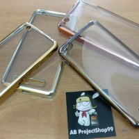 Shinning Chrome Silicone Softcase Xiaomi Redmi 4A