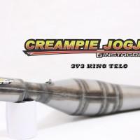 harga Knalpot Creampie Jogja RX-King model King 3v3 telo Tokopedia.com