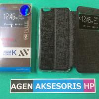 Flipcover Vivo V5 5.5 inchi Leather Case Sarung Buku HP Flip Case