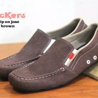 sepatu kickers jose brown suede