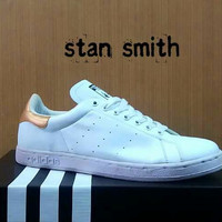 adidas stan smith white gold