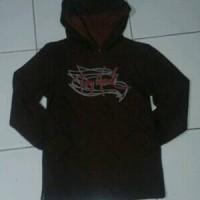 original hoodie tony hawk anak maroon