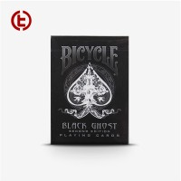 Bicycle Black Ghost Second Edition Playing Card Purple Import Amercia