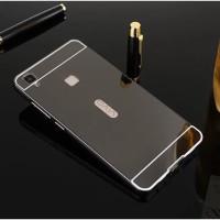 Vivo V3 / V3 Max Luxury Aluminium Bumper + Mirror Plate Case