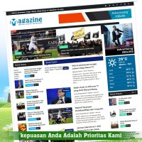 Website Portal Berita Script/source code responsive