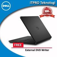 """Dell Inspiron 14-3459 Black- Core i5-6200,4GB,500GB,AMD R5 2GB,14"""",DOS"""