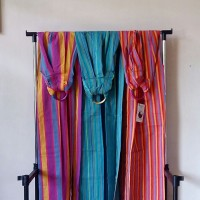 Gendongan NaNa woven ring baby sling kain tenun cotton premium modern