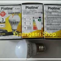 Jual Lampu LED Murah Pioline 3 watt 3w 3watt bukan philips 4w 6w 7w 10w 13w Murah