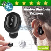 harga QCY Q26 Elf Ultra Mini Wireless Bluetooth Earphone with Microphone Tokopedia.com