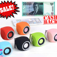 Jual Speaker Bluetooth Portable Waterproof Aquacube BEST SOUND QUALITY Murah