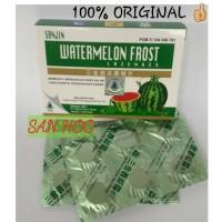 Sanjin Watermelon Frost Lozenges 12 Tablet