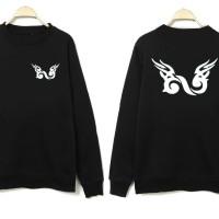 Jaket / Hoodie / Sweater Infinite KPOP - Hitam