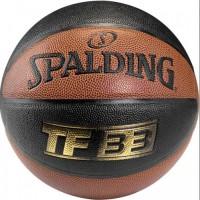 Bola Basket Spalding TF 33 Size 7 - Gold