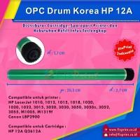 harga OPC Drum Korea HP 12A Q2612A Canon 303, HP LaserJet 1010 1012 1015 Tokopedia.com