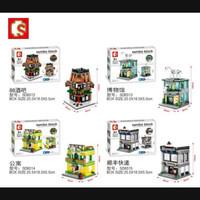 Lego Kw Sembo Block SD6512 Bar SD 6513 Museum SD6514 Apartment SD 6515