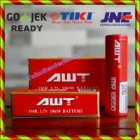 Jual AWT Battery 18650 3000mah 40A / Baterai 18650 Vapor Rokok Elektrik Murah