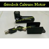 PROMO Kunci Gembok Pengaman Anti Maling Motor Sepedah Sport Matic Mope