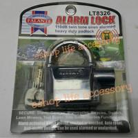TERLARIS High Quality Kunci Gembok Alarm Pagar Motor Sepeda Rumah TERL