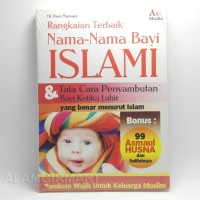 BUKU Rangkaian Terbaik Nama-Nama Bayi ISLAMI