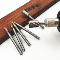 Mata bor kikir ukir kayu mini gerinda 3mm hobby craft woodworking DIY