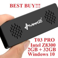 harga Meegopad T03 Pro CherryTrail x5-Z8300 Mini PC Stick Intel Win10 Wintel Tokopedia.com