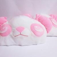 Bantal Panda Tidur Boneka Bandung (pink)